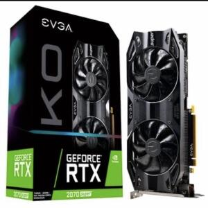 Placa de Vídeo EVGA NVIDIA GeForce RTX 2070 Super KO Gaming, 8GB, GDDR6 - R$3149