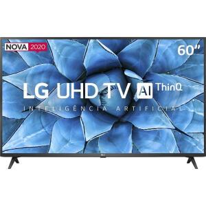 Smart TV Led 60'' LG 60UN7310 Ultra HD 4K AI Conversor Digital Integrado 3 HDMI 2 USB WiFi R$2.870