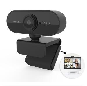 Webcam camera USB Full HD 1048P com microfone