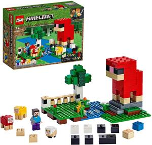 Lego Minecraft A Quinta da Lã 21153 R$150 [encerrado pq na Magazine Luiza tá mais barato]
