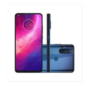 Motorola One Hyper 128GB Azul Oceano 4G Tela 6.5 Pol. Câmera Dupla 64MP Selfie 32MP Android 10