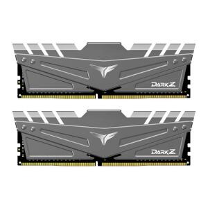 MEMORIA TEAM GROUP T-FORCE DARK Z 32GB (2X16) DDR4 2666MHZ CL15 CINZA, TDZGD432G2666HC15BDC01