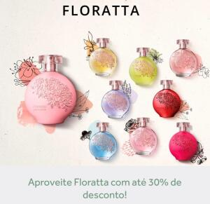 Floratta Desodorante Colônia 75mL