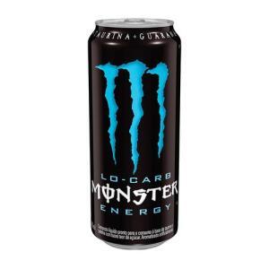 Energético Monster Energy Lo Carb 473ml | R$ 4,25