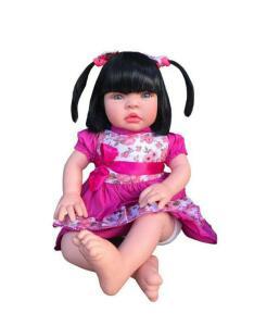 Boneca bebê tipo reborn realista | R$ 125