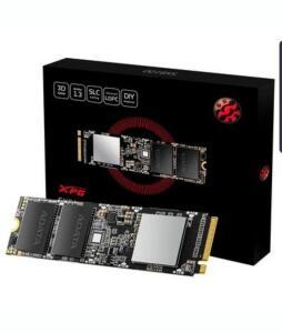 SSD XPG SX8100 512GB, M.2, Leitura 3500MB/s, Gravação 1900MB/s   R$ 530