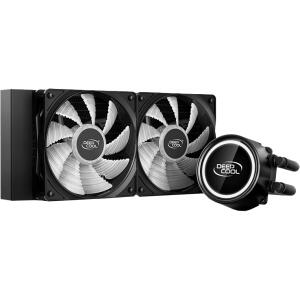 Water Cooler DeepCool Gammaxx L240T, LED White 240mm, Intel-AMD