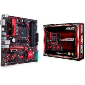 Placa-Mãe Asus EX-A320M-Gaming, AMD AM4, mATX, DDR4 | R$480