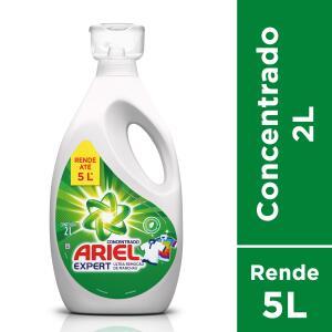 [5UN - R$12,00 CADA] Lava Roupas Ariel Expert, 2 L