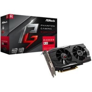 Placa de Video Asrock Phantom Gaming D Radeon RX570 4G, GDDR5 | R$560
