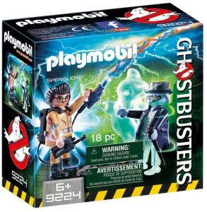 Playmobil Spengler e Fantasma Sunny | R$60