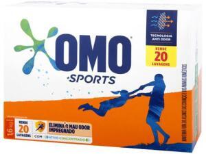 Sabão em Pó Omo Sports - 1,6kg | R$10