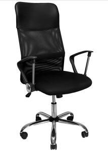 [PRIME] Cadeira Presidente Giratória, Mymax, Preto | R$399
