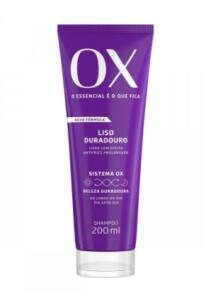 Shampoo OX Liso Duradouro | R$9