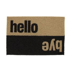 Capacho Super Print Hello Bye 40x60cm - Home Style   R$49