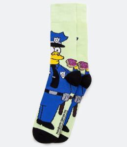 [Renner] Meia estampada Os Simpsons 5,90