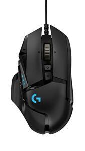 Mouse Gamer RGB Logitech G502 HERO com Tecnologia LIGHTSYNC   R$184