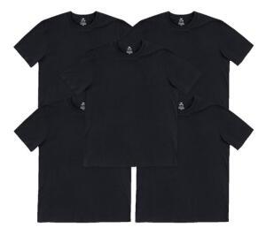 Kit 5 Camisetas Masculinas Hering Básicas Slim