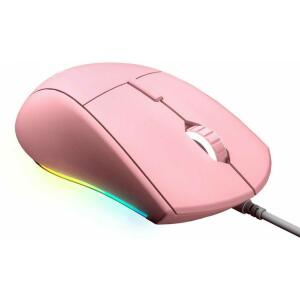 Mouse Gamer Cougar Minos XT RGB, 6 Botões Programáveis, 4000 DPI, Pink   R$ 135