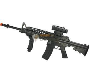 Rifle Airsoft elétrico para iniciante   R$ 873