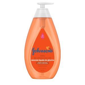750ml - Sabonete Johnson & Johnson Baby Da Cabeça Aos Pés | R$23
