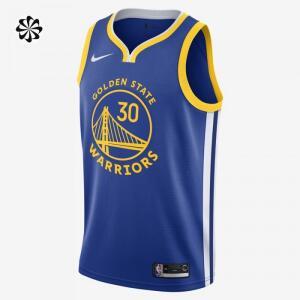 Regata Nike Stephen Curry Icon Edition Swingman (Golden State Warriors) Masculina   R$270