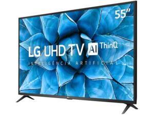 "Smart TV 4K LED IPS 55"" LG 55UN7310PSC Wi-Fi -| R$2.899"