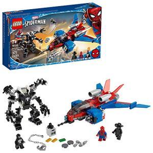 [Prime] Lego Super Heroes Spiderjet vs. Venom Mech 76150 | R$180