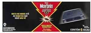 [PRIME/RECORRÊNCIA]Iscas Pro Mata Baratas, Mortein -6 unidades