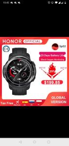 Huawei Honor Watch GS Pro | R$1231