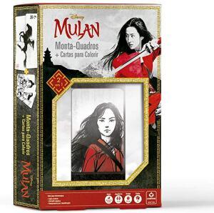 [PRIME] Mulan: Monta-Quadros + Cartas p/ Colorir - Copag | R$10