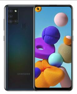 Samsung Galaxy A21s Dual SIM 64 GB Preto 4 GB RAM R$1179