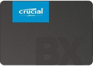 SSD Crucial BX500, 480GB, SATA, Leitura 540MB/s, Gravação 500MB/s | R$ 380