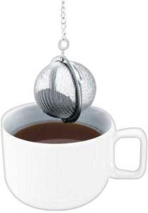 [PRIME] Infusor de Inox para Chá Mimo Style Prata | R$12