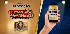 Compre R$20 em produtos Niely e ganhe R$20 em bônus de celular