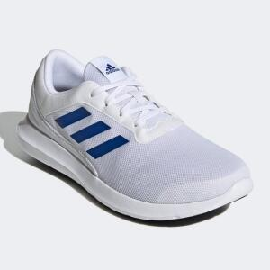 Tênis Adidas Coreracer Masculino - Branco e Azul Royal | R$153