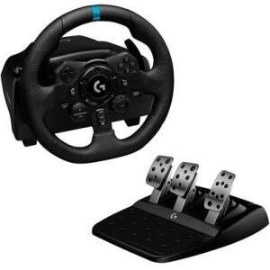 Volante Logitech G923, PS5, PS4, PC com Force Feedback TRUEFORCE | R$2.965