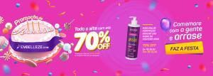 Embelleze Todo o site com até 70% de desconto