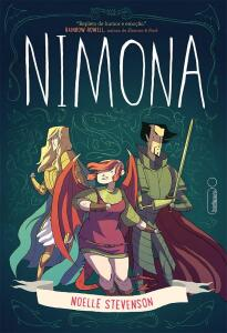 [Prime] Nimona - Graphic novel - Capa comum | R$ 15
