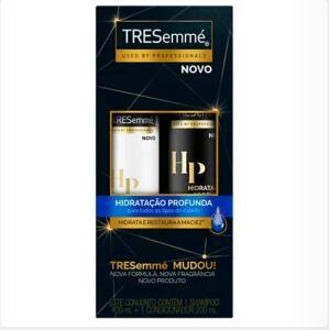 Kit Tresemme Hidratação Profunda Shampoo 400ml + Condicionador 200ml   R$12