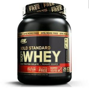 [AME R$137] 100% Whey Gold Standard 2.4lbs Baunilha - Optimum Nutrition | R$ 144