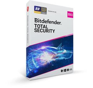 Bitdefender Total Security - 1 Ano / 5 Dispositivos + VPN