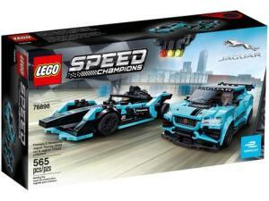 LEGO 76898 - Formula E Panasonic Jaguar Racing 565 Peças / 184,41 (cupom) / 0,35 por peça