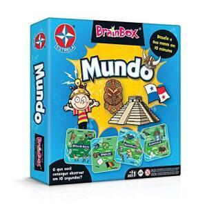 Jogo Brainbox Mundo Brinquedos Estrela | R$40