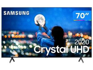"[Clube da Lu] Smart TV Crystal UHD 4K LED 70"" Samsung-70TU7000   R$ 4.420"