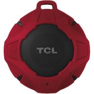 [R$ 90 AME] Caixa de Som Bluetooth TCL BS05B à Prova D'Água Vermelha 5W | R$ 180