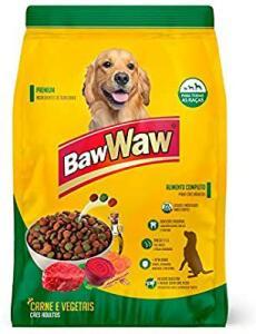 (Prime) 6Kg Ração Baw Waw para cães sabor Carne e Vegetais 6kg | R$ 22