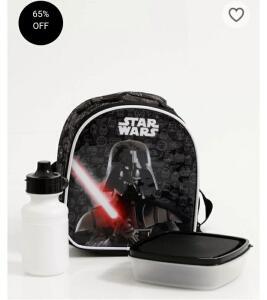 Lancheira Escolar Infantil Estampa Star Wars Xeryus