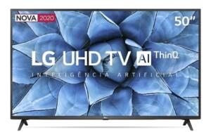 "Smart TV LG UHD TV 4k 50"""