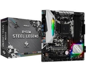 B450 M Steel Legend - Kabum - R$ 800